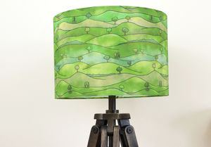 Countryside Lampshade - children's lighting