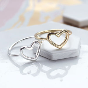 Open Heart Ring - rings