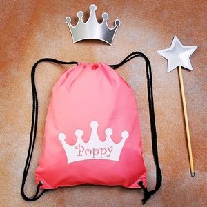 Personalised Princess Bag - bags, purses & wallets