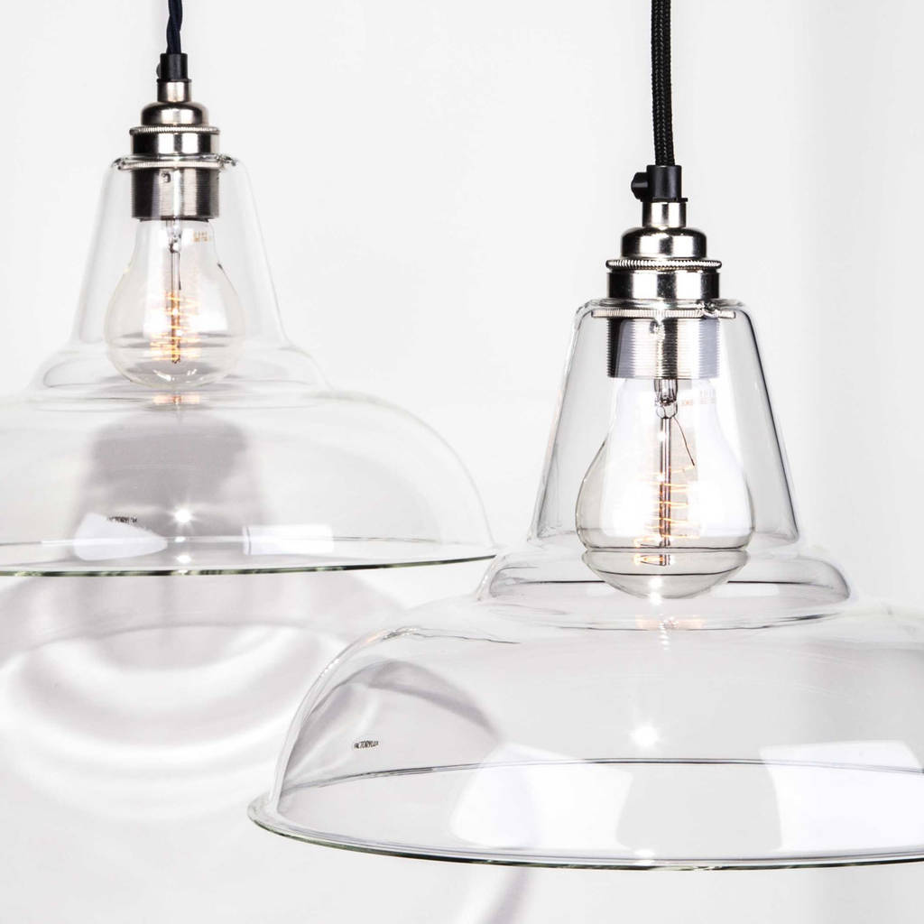 Clear glass coolicon pendant light by factorylux clear glass coolicon pendant light aloadofball Gallery