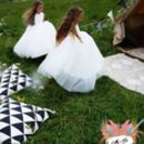 Fleur ~ Flower Girl Dress In White Or Ivory