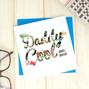 Daddy Cool Hawaiian Fathers Day Card - cards & wrap