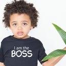 'I Am The Boss' Kids T Shirt