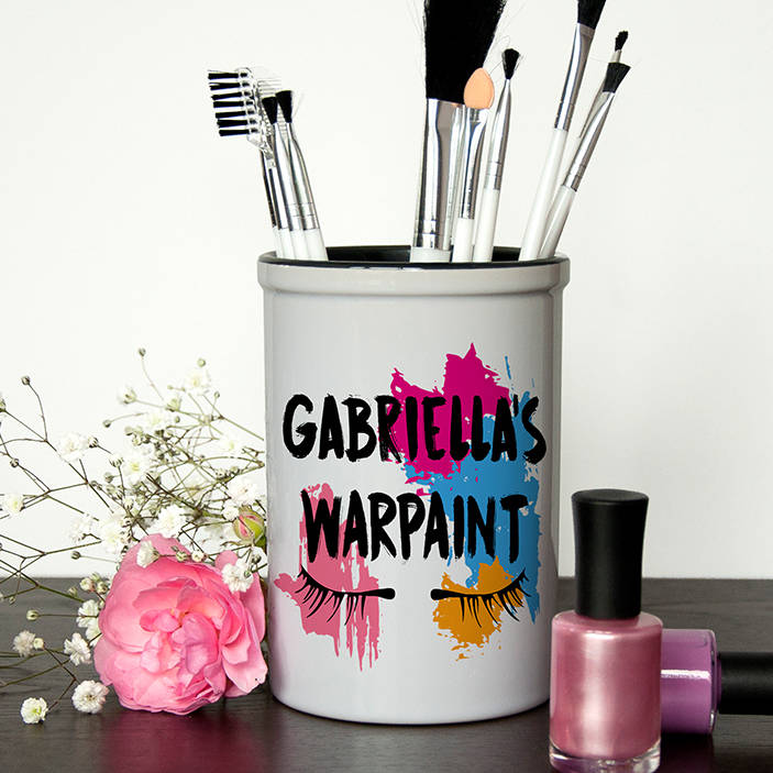 War Paint Make Up Brush Holder