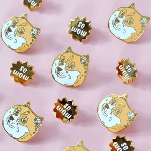 Doge Enamel Pin Set