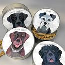 Dog Tin 64 Personalised Designs Available