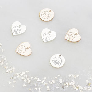 Add On A Personalised Emoji Jewellery Charm - charm jewellery