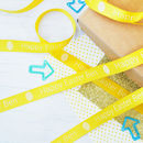 Easter 15mm Personalised Printed Ribbon