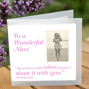 Niece Greeting Card