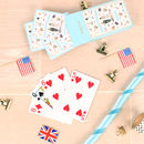 Royal Wedding Playing Cards