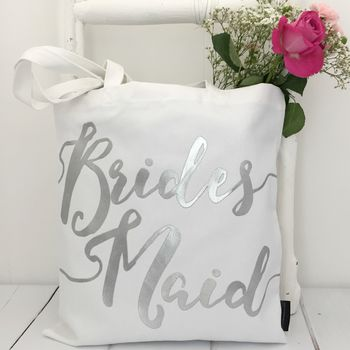'Bridesmaid' Wedding Bag