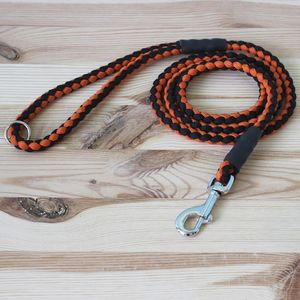Two Tone Rope Style Paracord Dog Lead - pet leads & harnesses