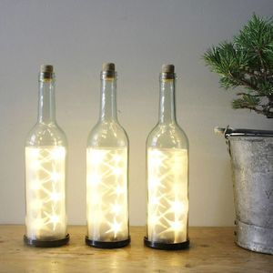LED Glass Bottle Table Decoration - kitchen