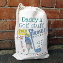 Personalised Golf Sack