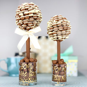 Malteser Chocolate Drizzle Personalised Tree