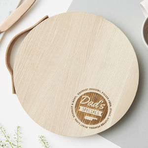 Personalised Wooden Chopping Board - best father's day gifts