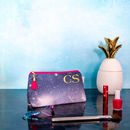 Personalised Cosmic Sky Waterproof Makeup Bag