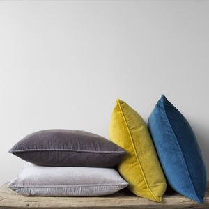 Velvet Rectangular Cushion - new season homeware