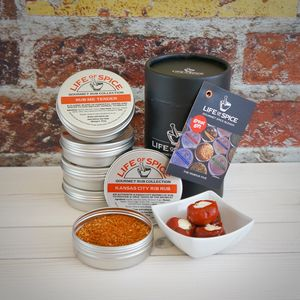 The Famous Five BBQ Rub Collection - personalised