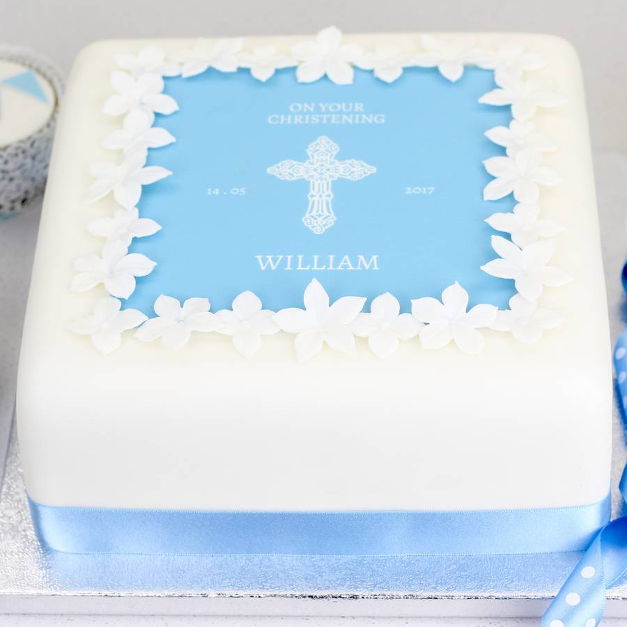 Baptism Cakes Pictures Ideas