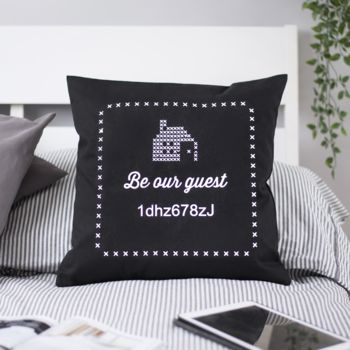 Wifi Code Cushion Cover