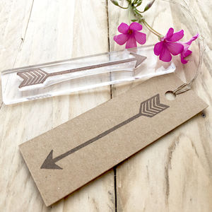 Chevron Arrow Flexi Clear Stamp