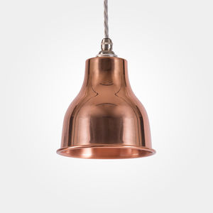 Factory Pendant Small Copper - ceiling lights
