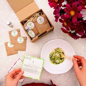 Make Your Own Matcha Tea Face Mask Kit - stocking fillers