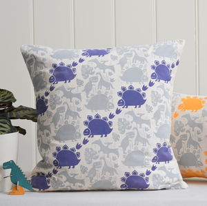 Saur Saur Block Printed Cotton Cushions - soft furnishings & accessories