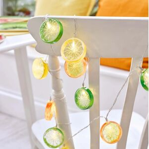 Citrus Garden Party Fairy Lights