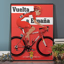 Vuelta A España Grand Cycling Tour Of Spain