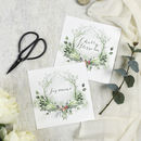 Woodland Wedding Table Names
