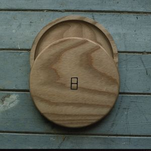 Solid Timber Handturned Wooden Plate - tableware
