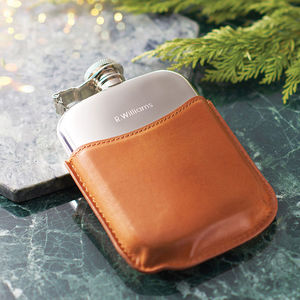Mr Jones Personalised Hip Flask - gifts for him