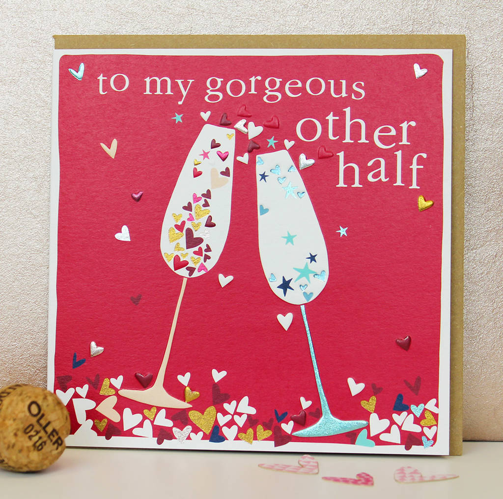 Other Half Greetings Card