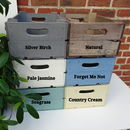Personalised Half Bushel Box