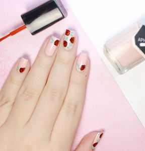 Awesome Blossom Nail Art Stamp - nail care