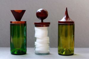 Blantyre Glass Storage Jars - kitchen