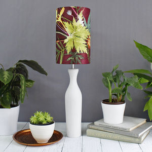 Botanical Design Floral Lampshade