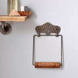 Antique Style Toiler Roll Holder