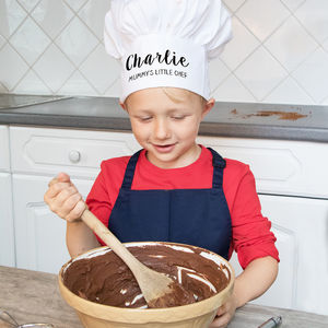 Personalised Kids Chef Hat - baking