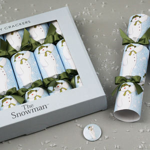 Official The Snowman Luxury Christmas Crackers