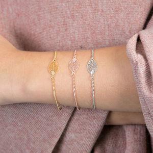 Delicate Leaf Bracelet - what's new