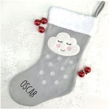 Personalised Sleepy Cloud Stocking