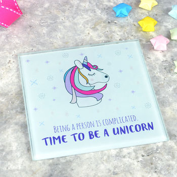 Unicorn Coaster 'Time To Be A Unicorn'