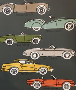 British Classic Car Wallpaper - home decorating