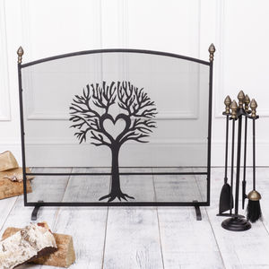Tree Fireguard And Acorn Companion Set - home accessories