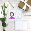 Wedding Guest Book Portrait And Message Postcards