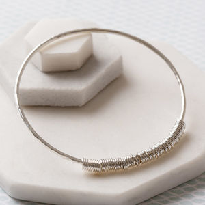 60th Birthday Bangle - 60th birthday gifts