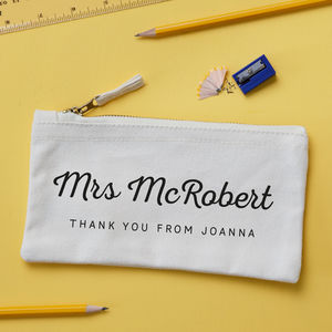 Personalised Thank You Teacher Pencil Case - view all sale items